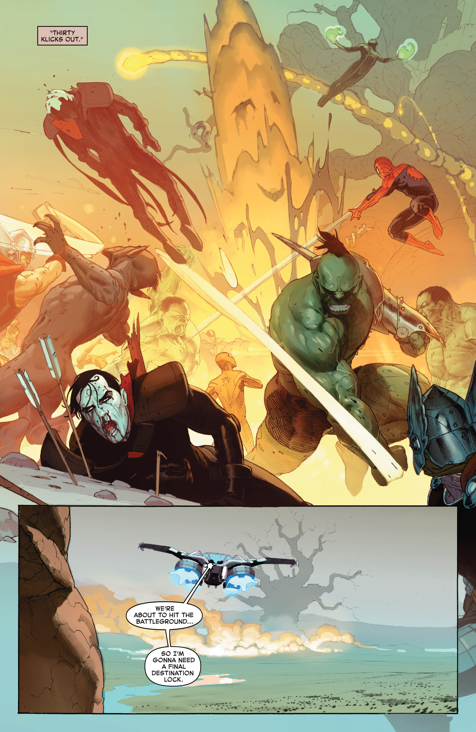 Read online Secret Wars comic -  Issue #8 - 2
