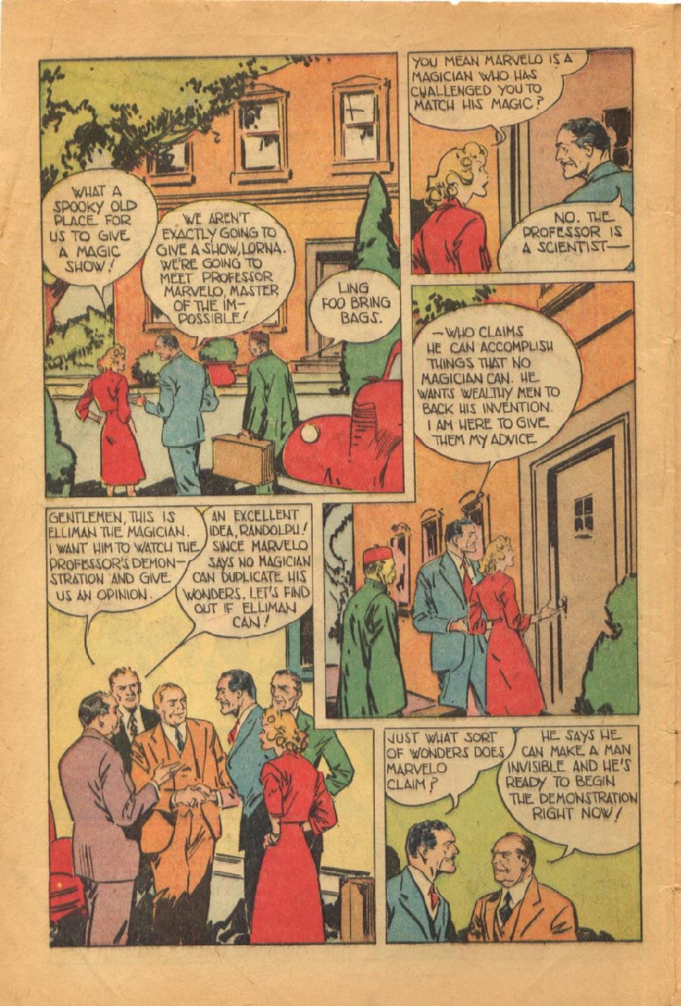 Read online Super-Magician Comics comic -  Issue #52 - 5