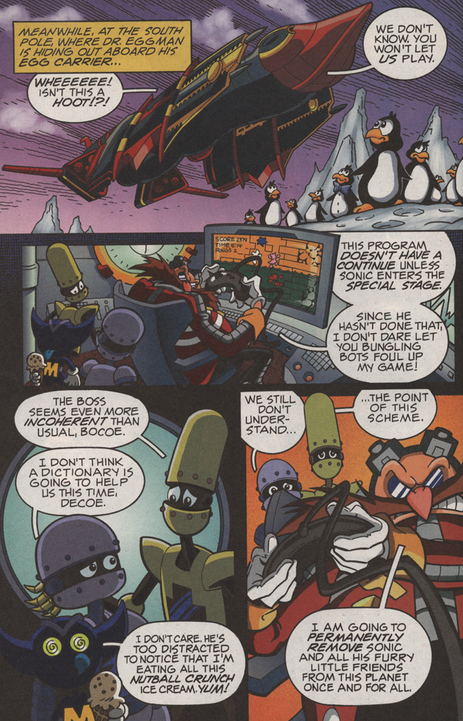 Read online Sonic X comic -  Issue #11 - 14