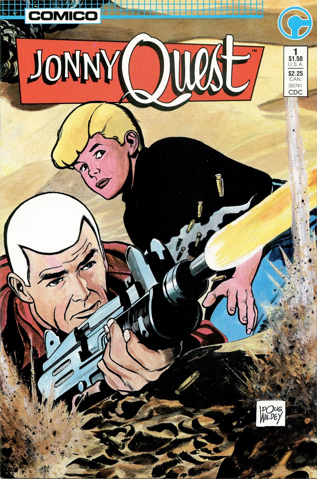 Jonny Quest (1986) issue 1 - Page 1