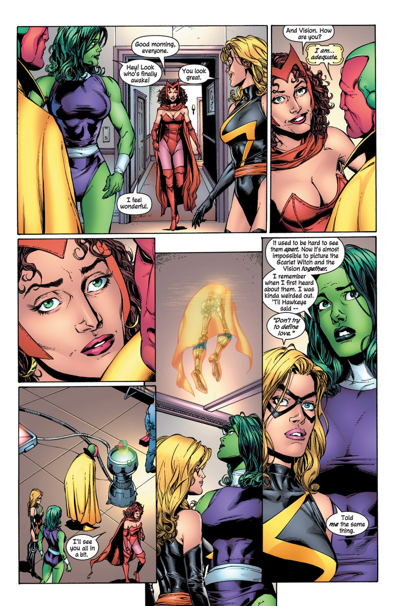 Read online Avengers (1998) comic -  Issue #61 - 9