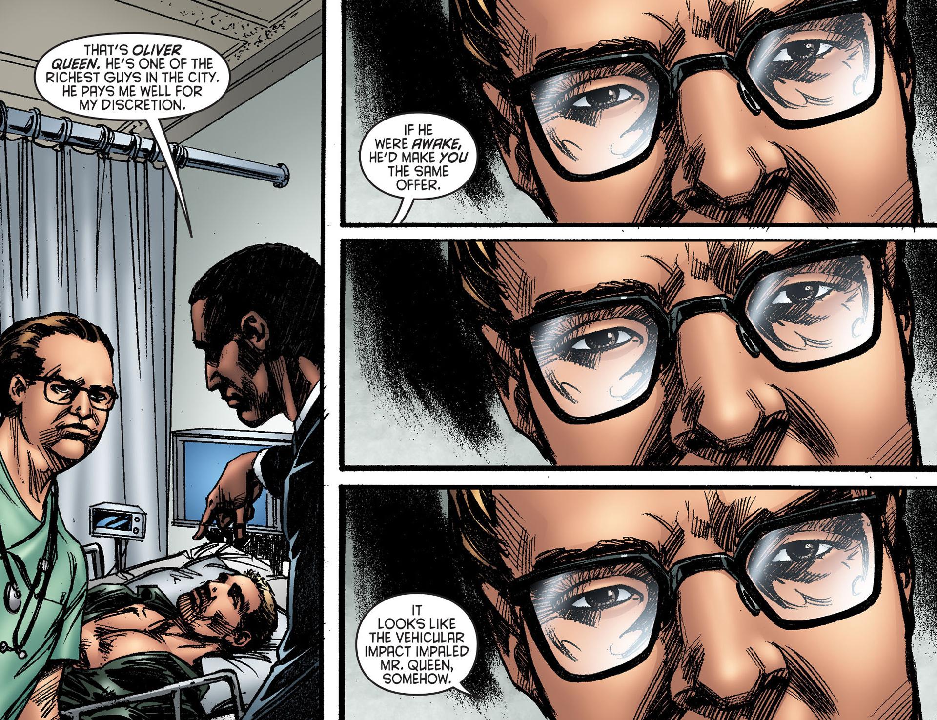 Read online Arrow [II] comic -  Issue #25 - 17