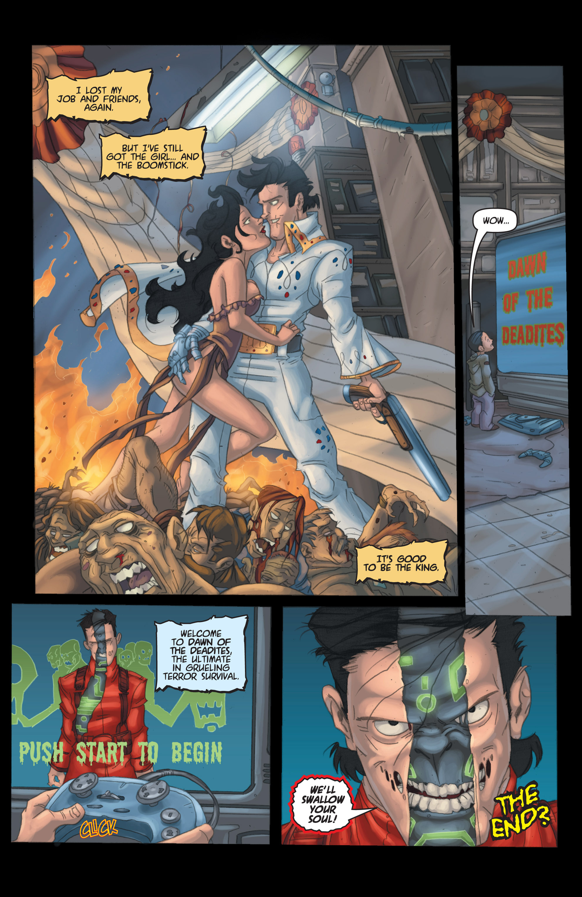Read online Army of Darkness: Shop Till You Drop Dead comic -  Issue #Army of Darkness: Shop Till You Drop Dead TPB - 107