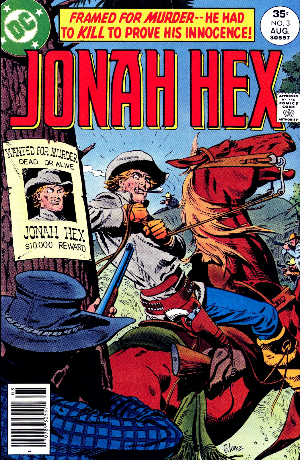 Jonah Hex (1977) 3 Page 1
