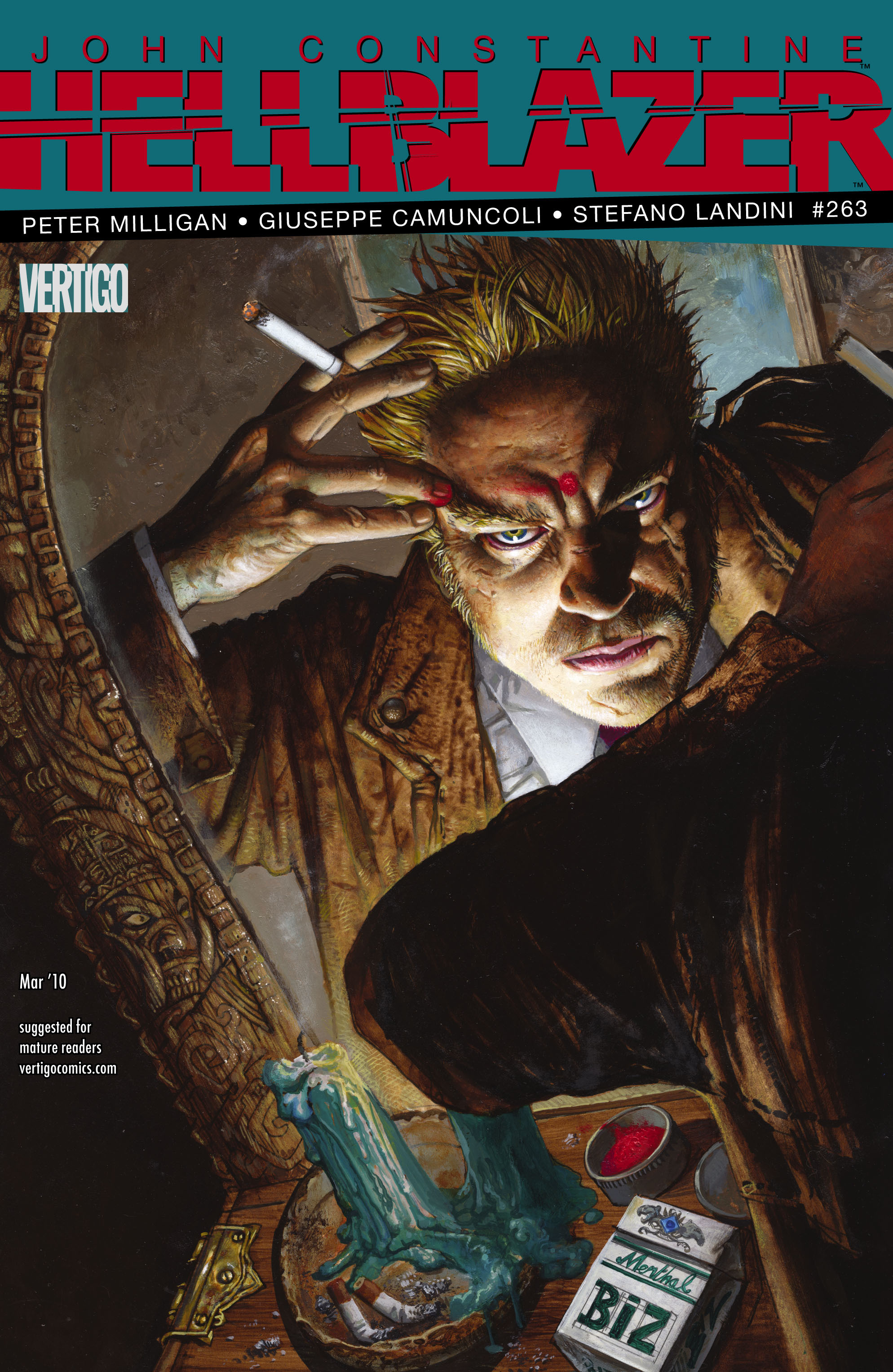 Hellblazer issue 263 - Page 1