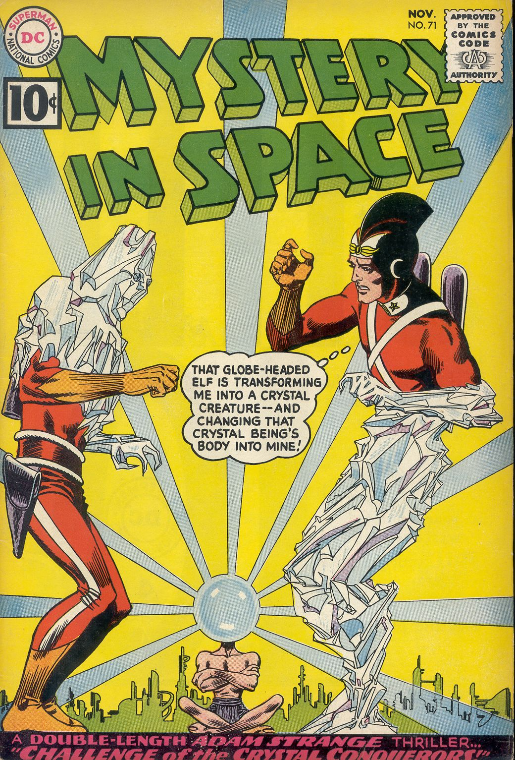 Mystery in Space (1951) issue 71 - Page 1