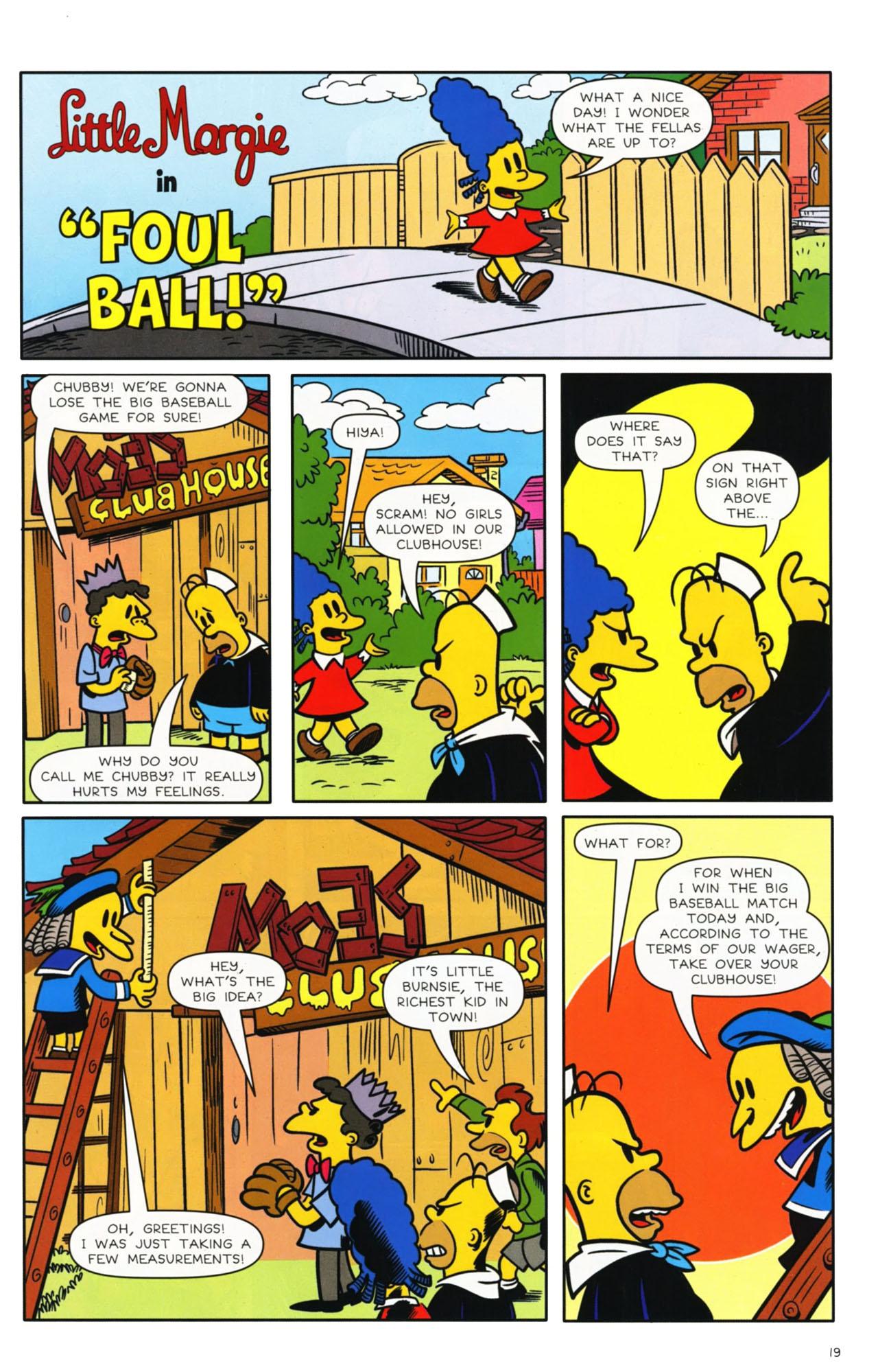 Read online Bongo Comics presents Comic Book Guy: The Comic Book comic -  Issue #3 - 15