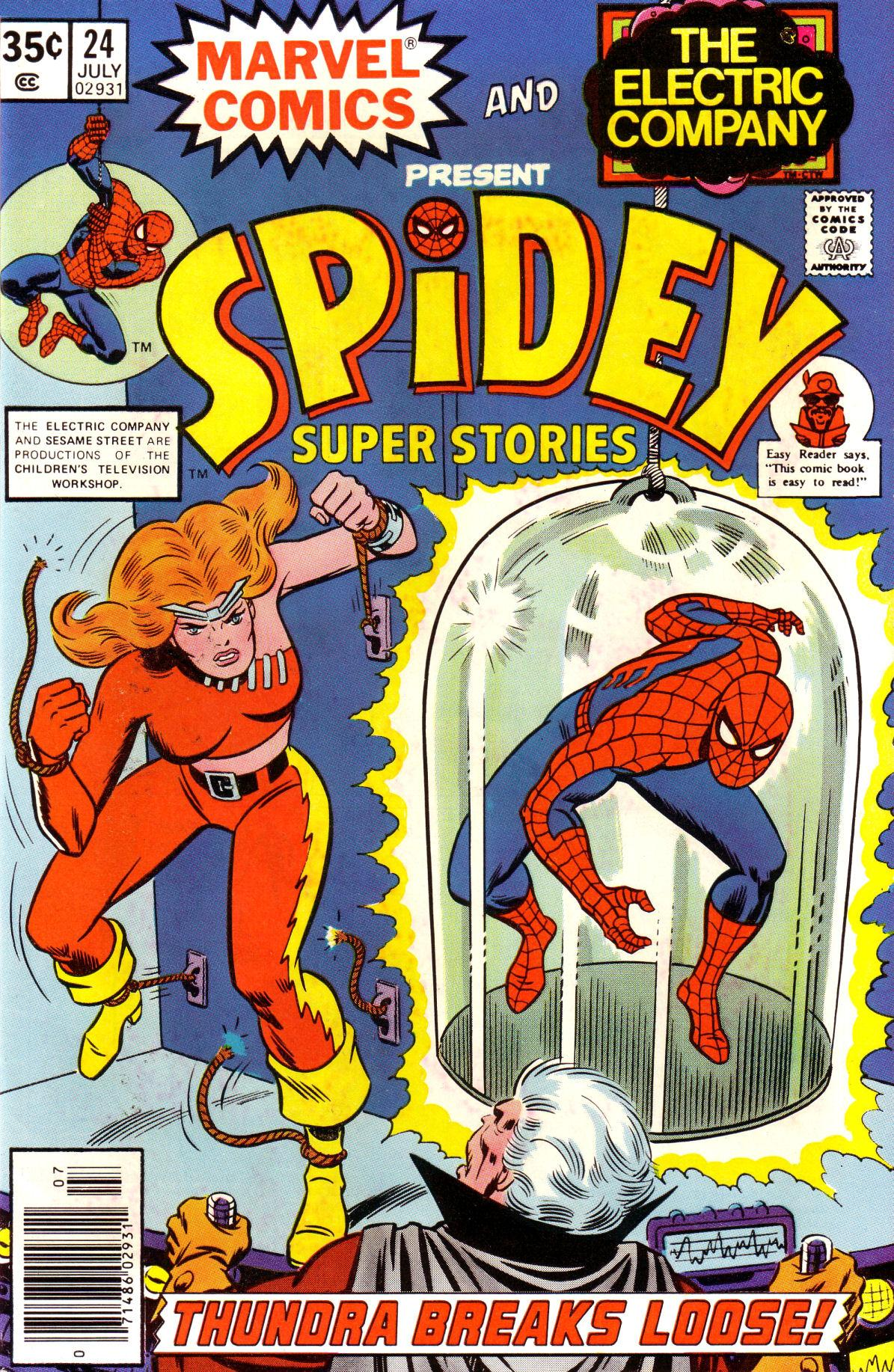 Spidey Super Stories 24 Page 1