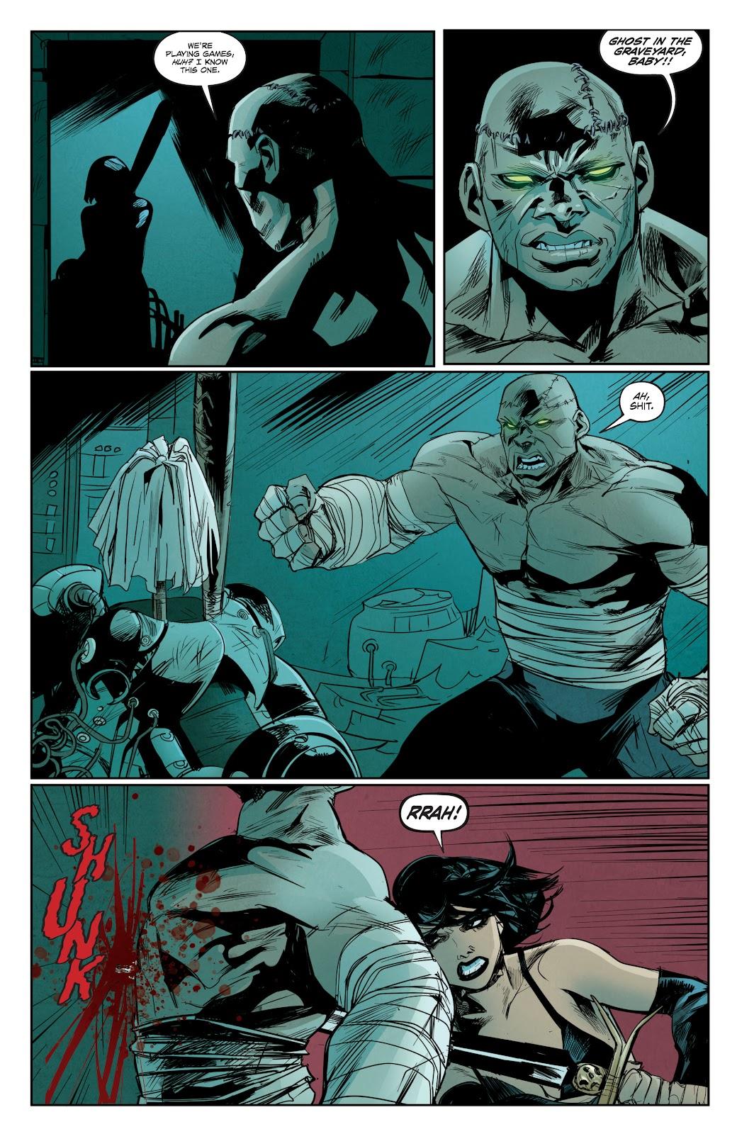 Read online Hack/Slash vs. Chaos comic -  Issue #3 - 12