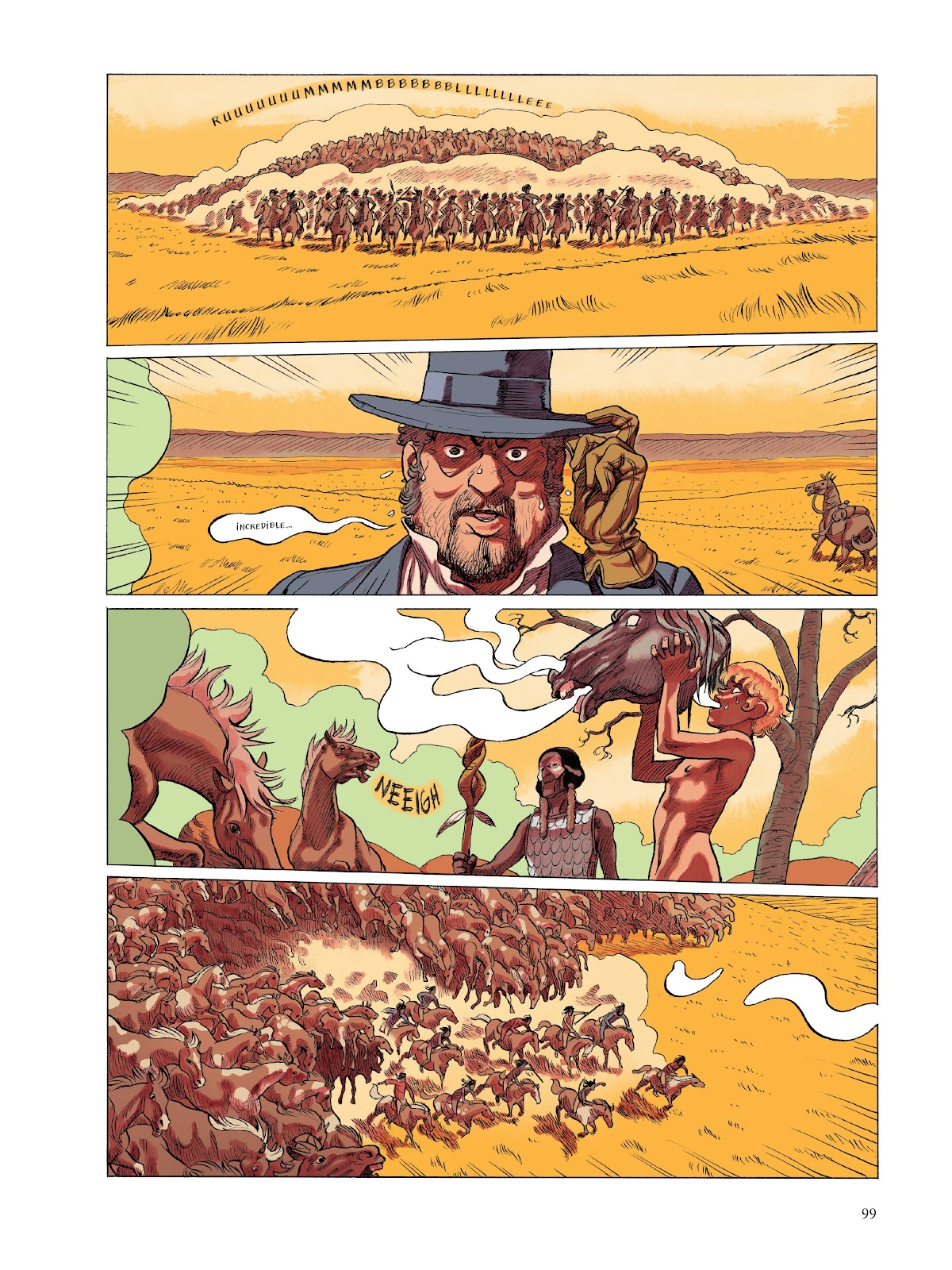 Read online The Smell of Starving Boys comic -  Issue # TPB - 100
