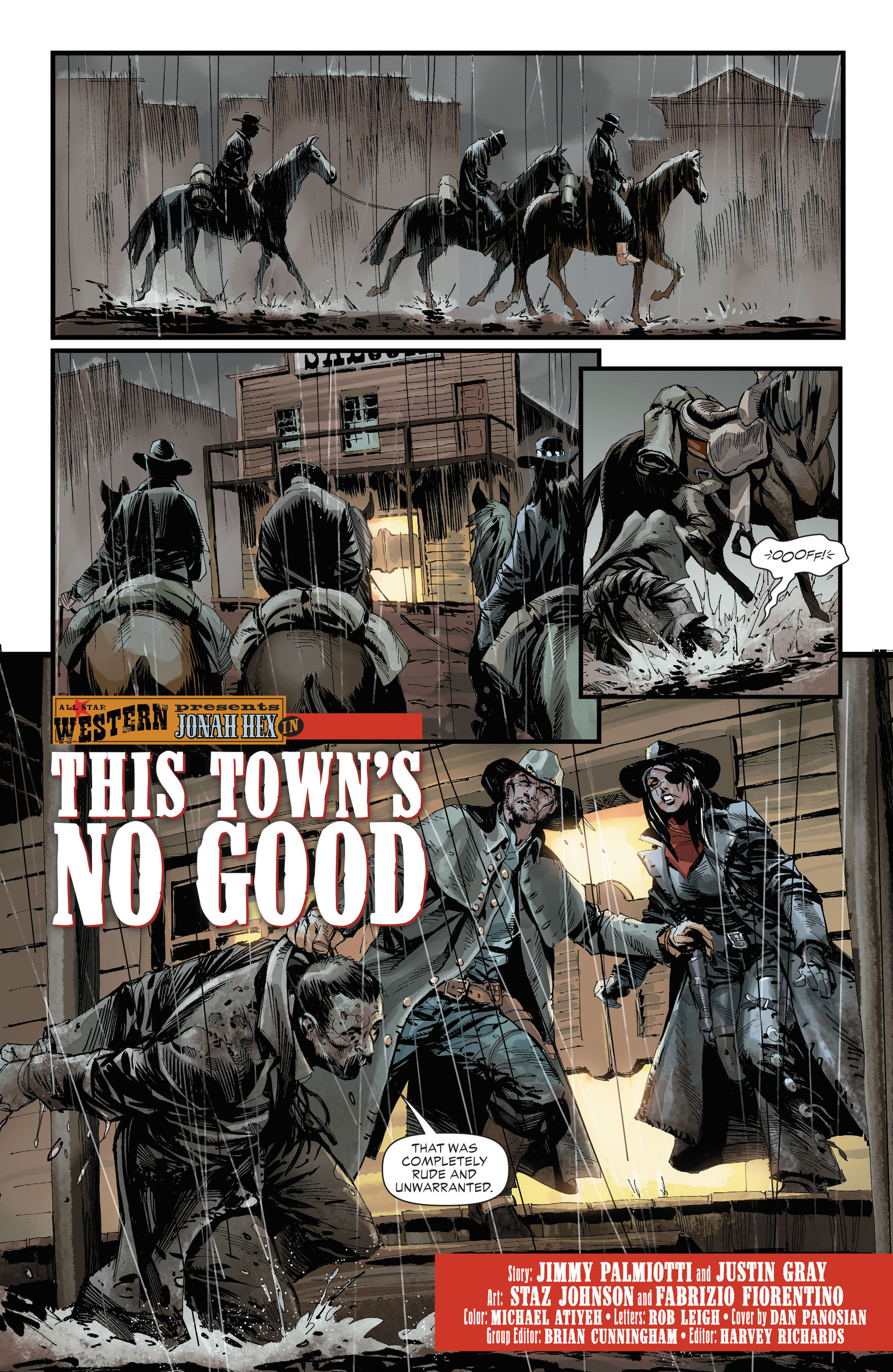 Read online All-Star Western (2011) comic -  Issue #32 - 4