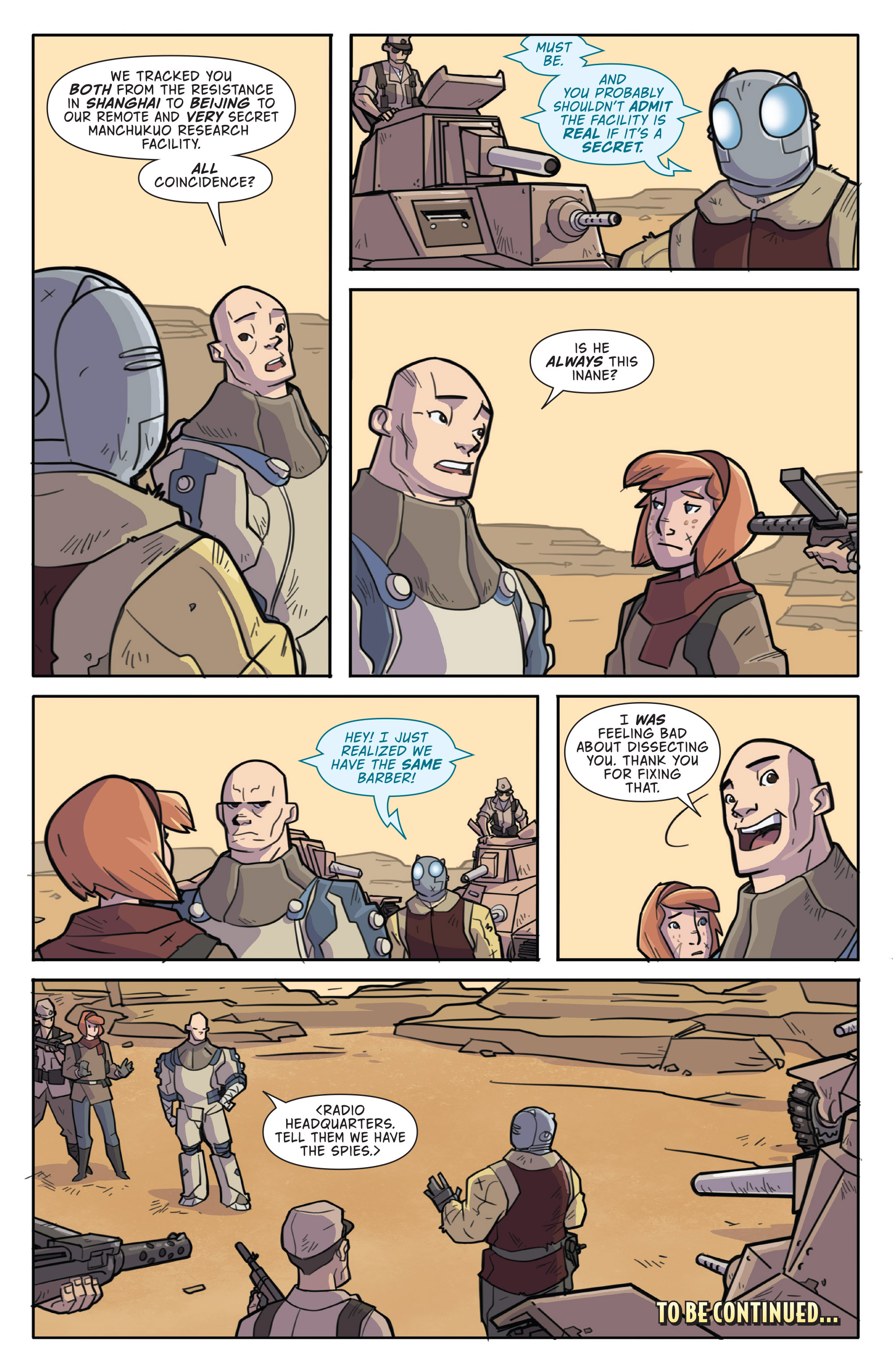 Read online Atomic Robo and the Temple of Od comic -  Issue #1 - 24