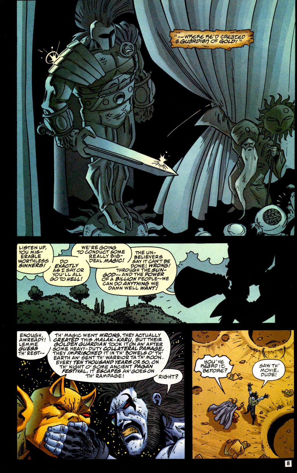 Read online Lobo/Demon: Hellowe'en comic -  Issue # Full - 9