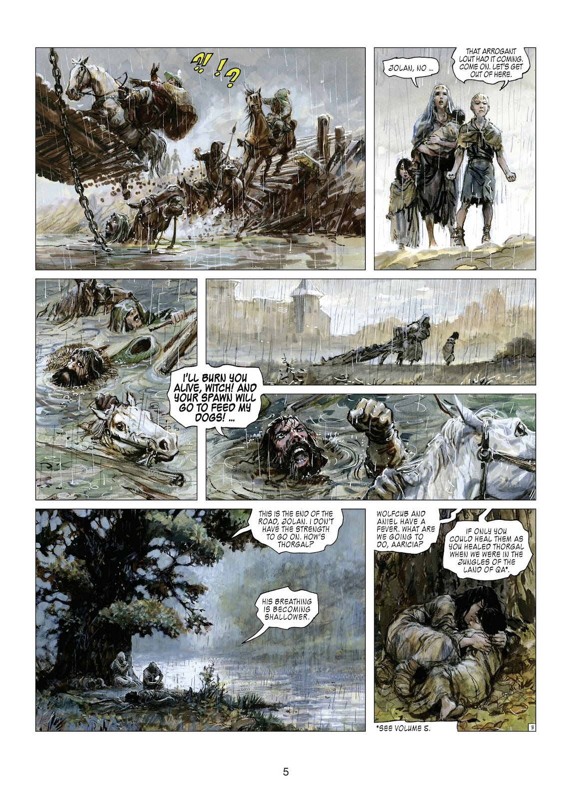 Read online Thorgal comic -  Issue #21 - 7