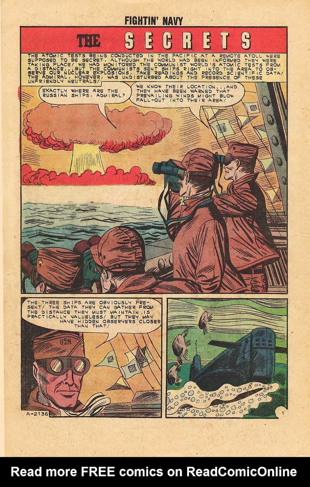 Read online Fightin' Navy comic -  Issue #113 - 16