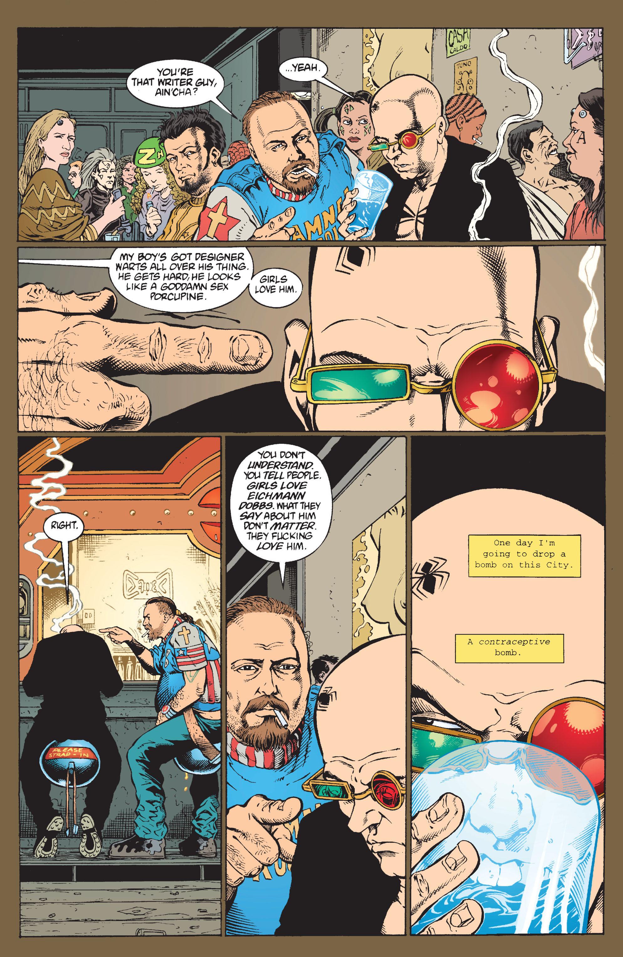 Read online Transmetropolitan comic -  Issue #9 - 8