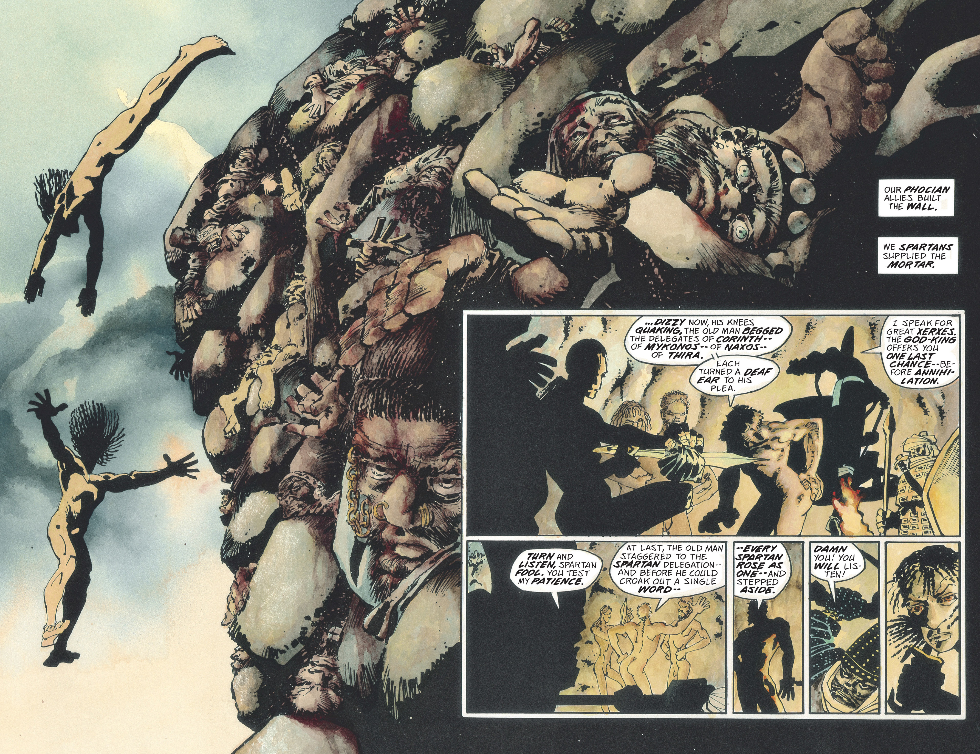 Read online 300 comic -  Issue #300 TPB - 40