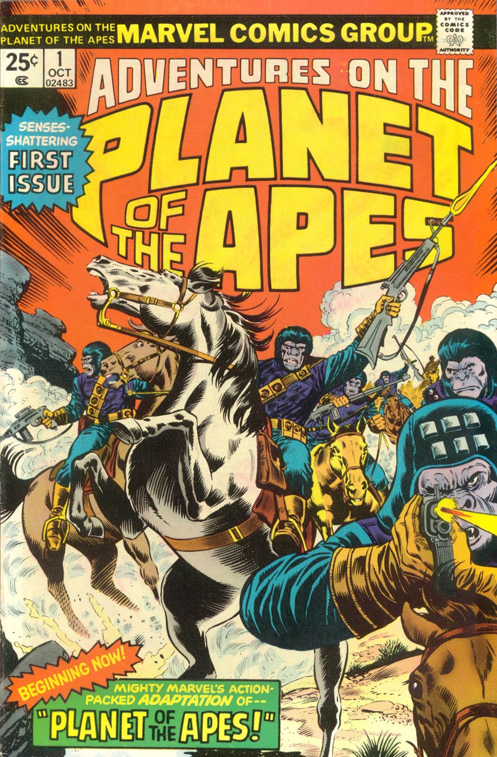 Adventures on the Planet of the Apes 1 Page 1