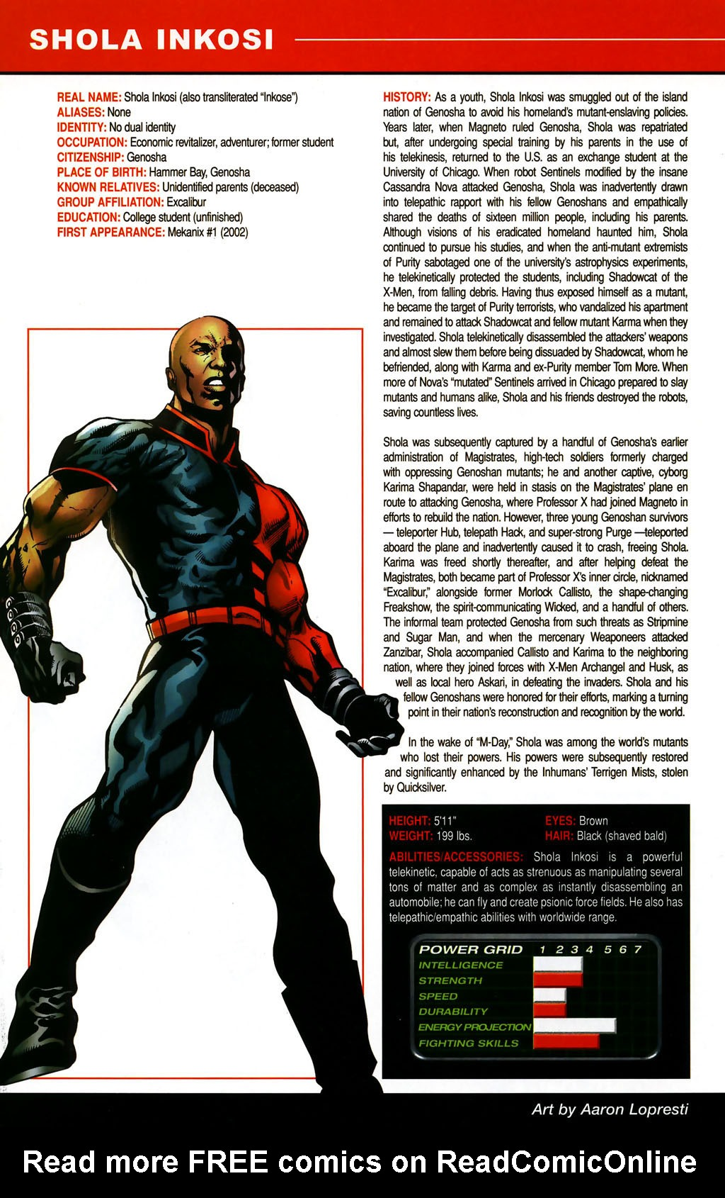 Read online All-New Official Handbook of the Marvel Universe A to Z comic -  Issue #5 - 54