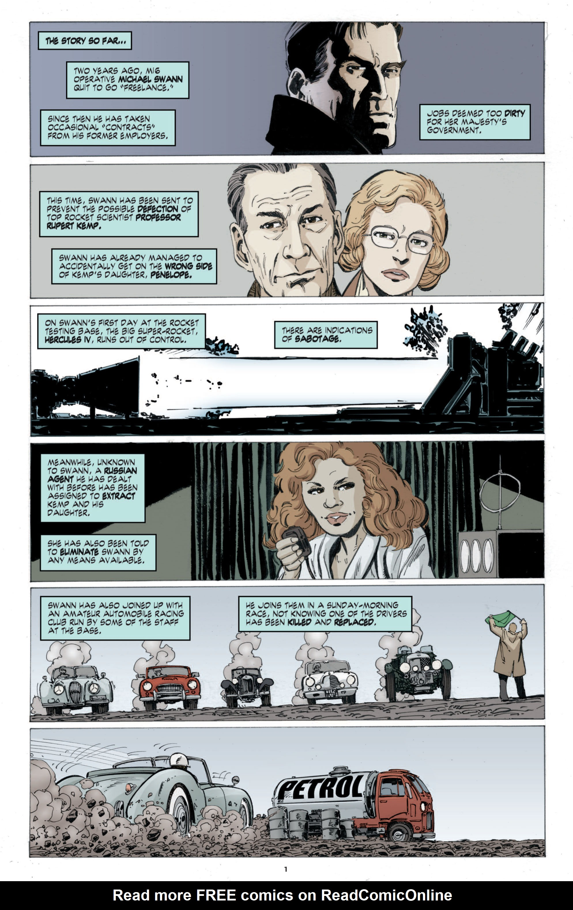 Read online Cold War comic -  Issue # TPB - 59
