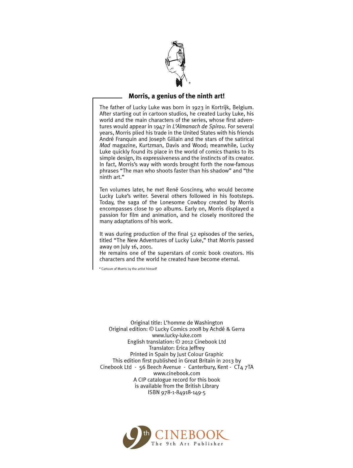 Read online A Lucky Luke Adventure comic -  Issue #39 - 47