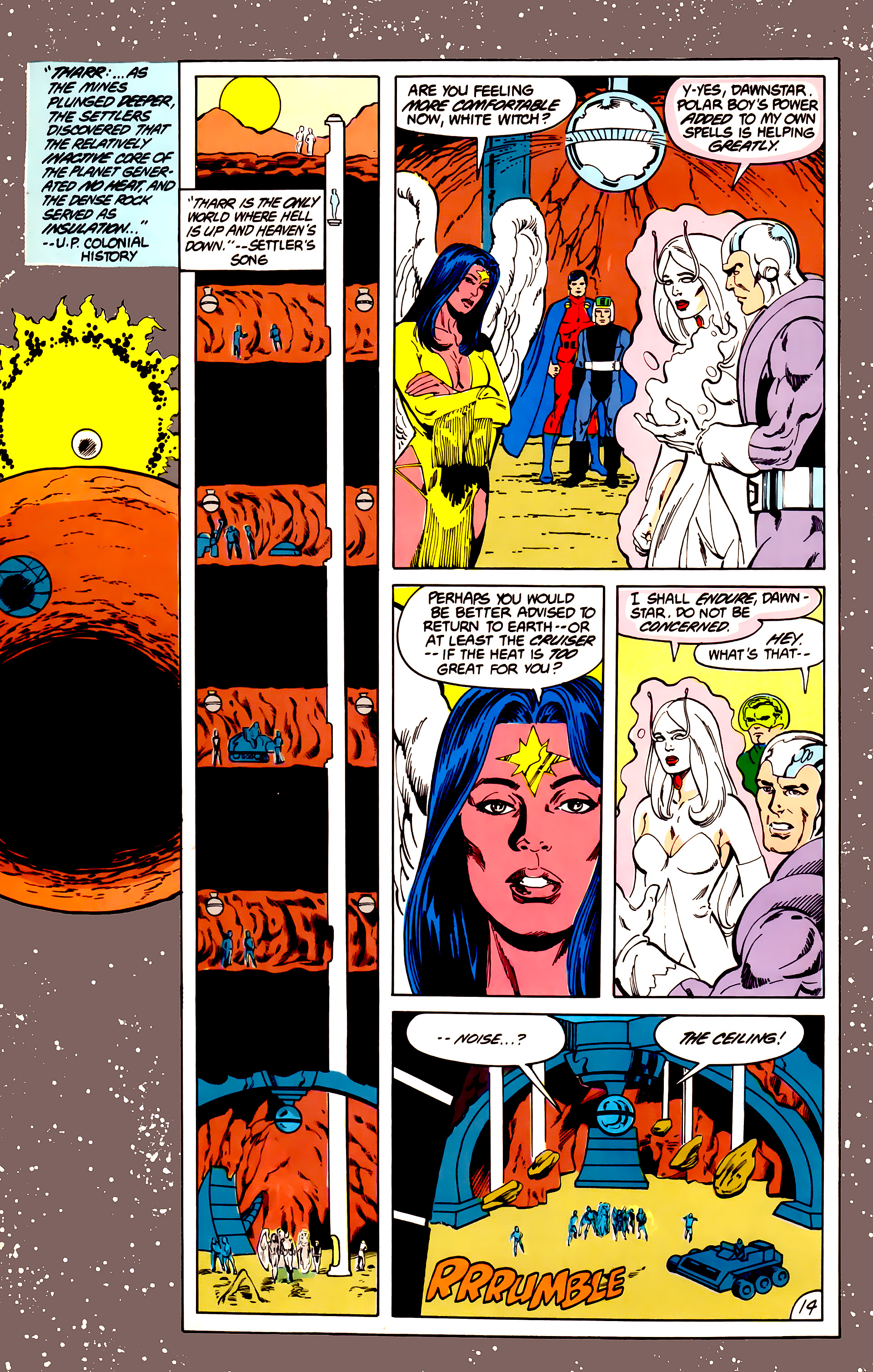 Legion of Super-Heroes (1984) 40 Page 14