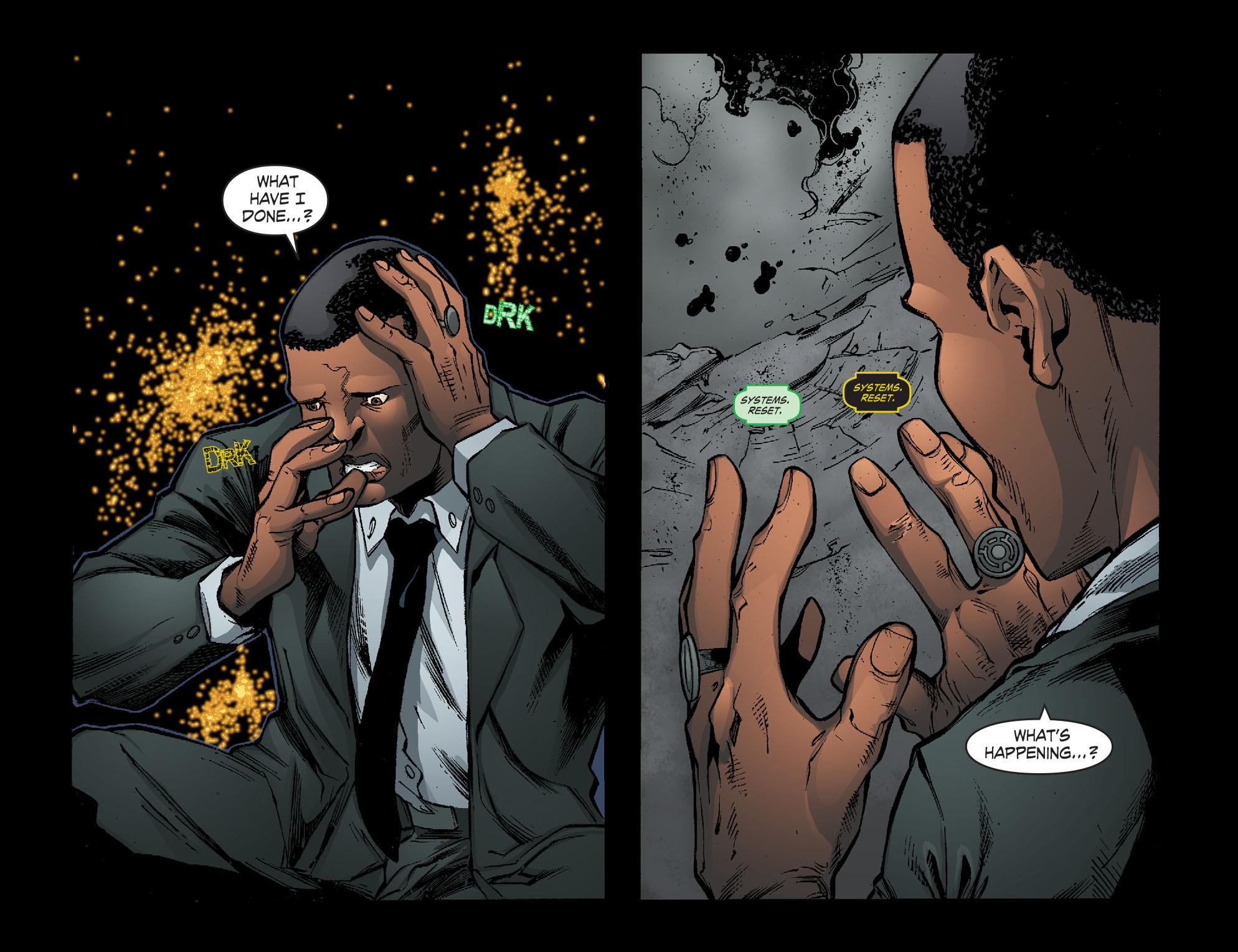 Read online Smallville: Lantern [I] comic -  Issue #11 - 19