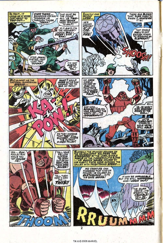 Read online Uncanny X-Men (1963) comic -  Issue #81 - 4