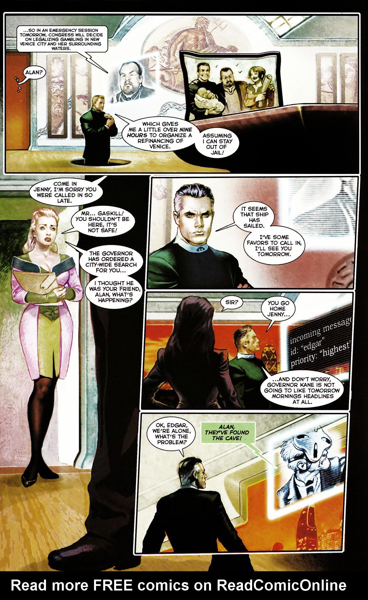 Read online Shark-Man comic -  Issue #1 - 23