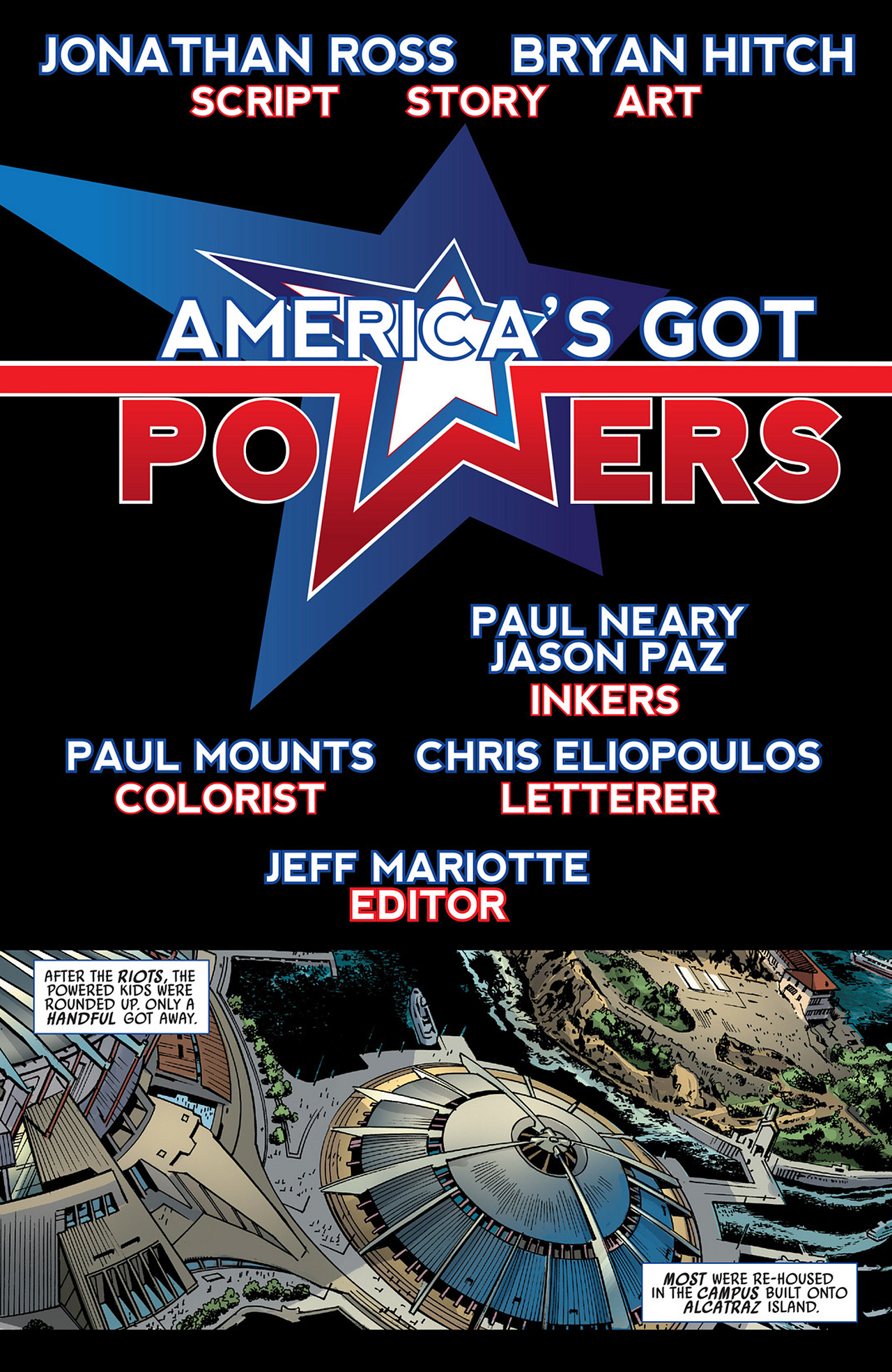 Read online America's Got Powers comic -  Issue #3 - 4