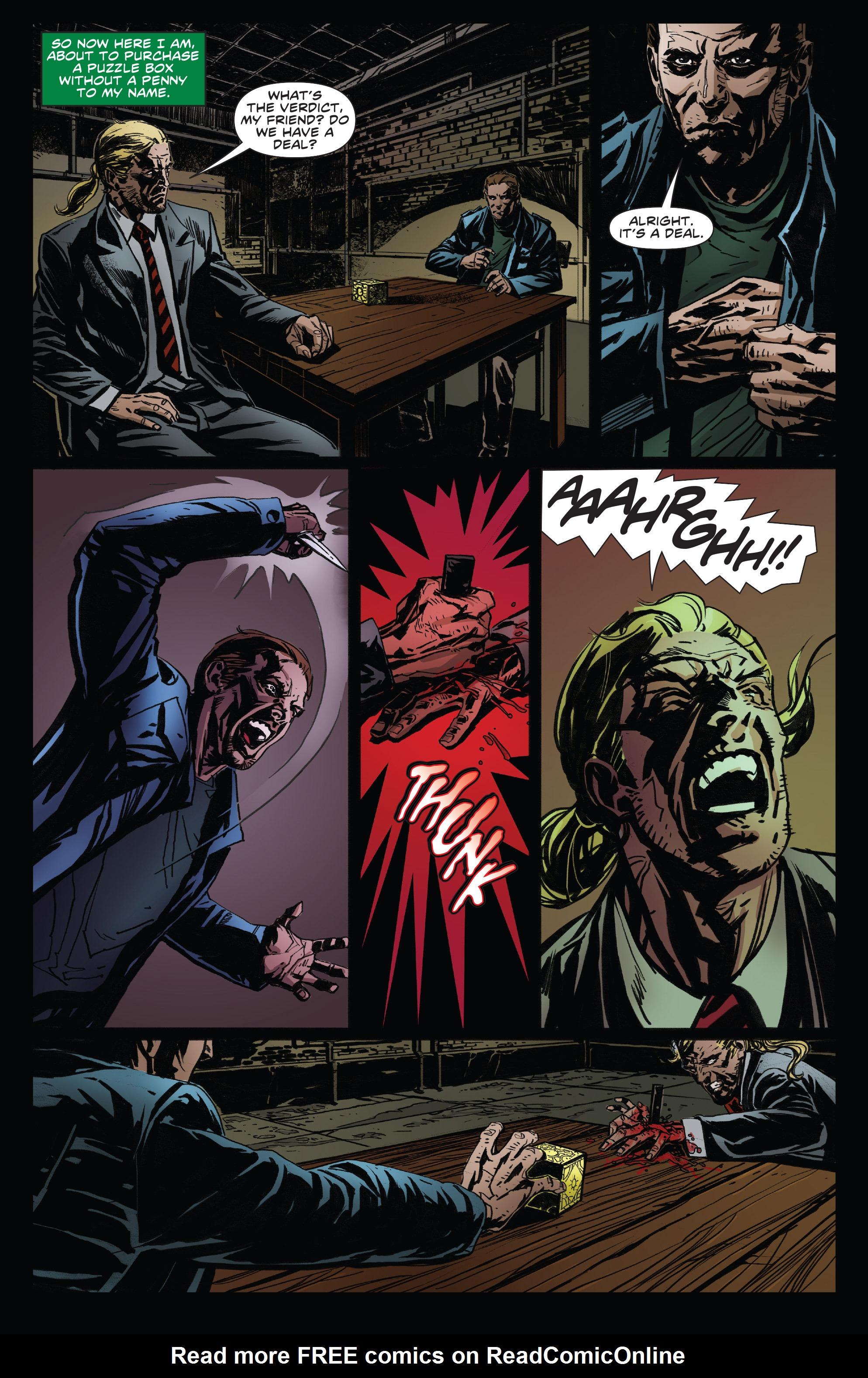 Read online Clive Barker's Hellraiser: The Dark Watch comic -  Issue # TPB 3 - 18
