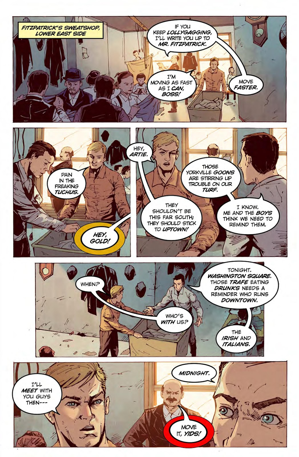 Read online American Dreams comic -  Issue #1 - 8