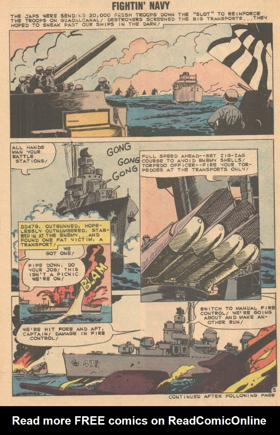 Read online Fightin' Navy comic -  Issue #93 - 30