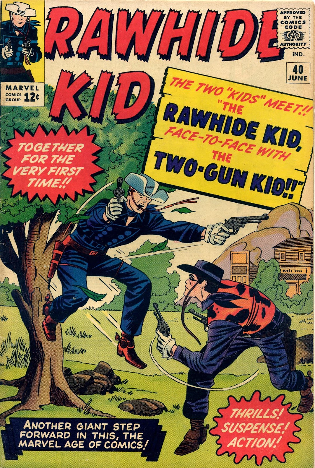 The Rawhide Kid (1955) issue 40 - Page 1