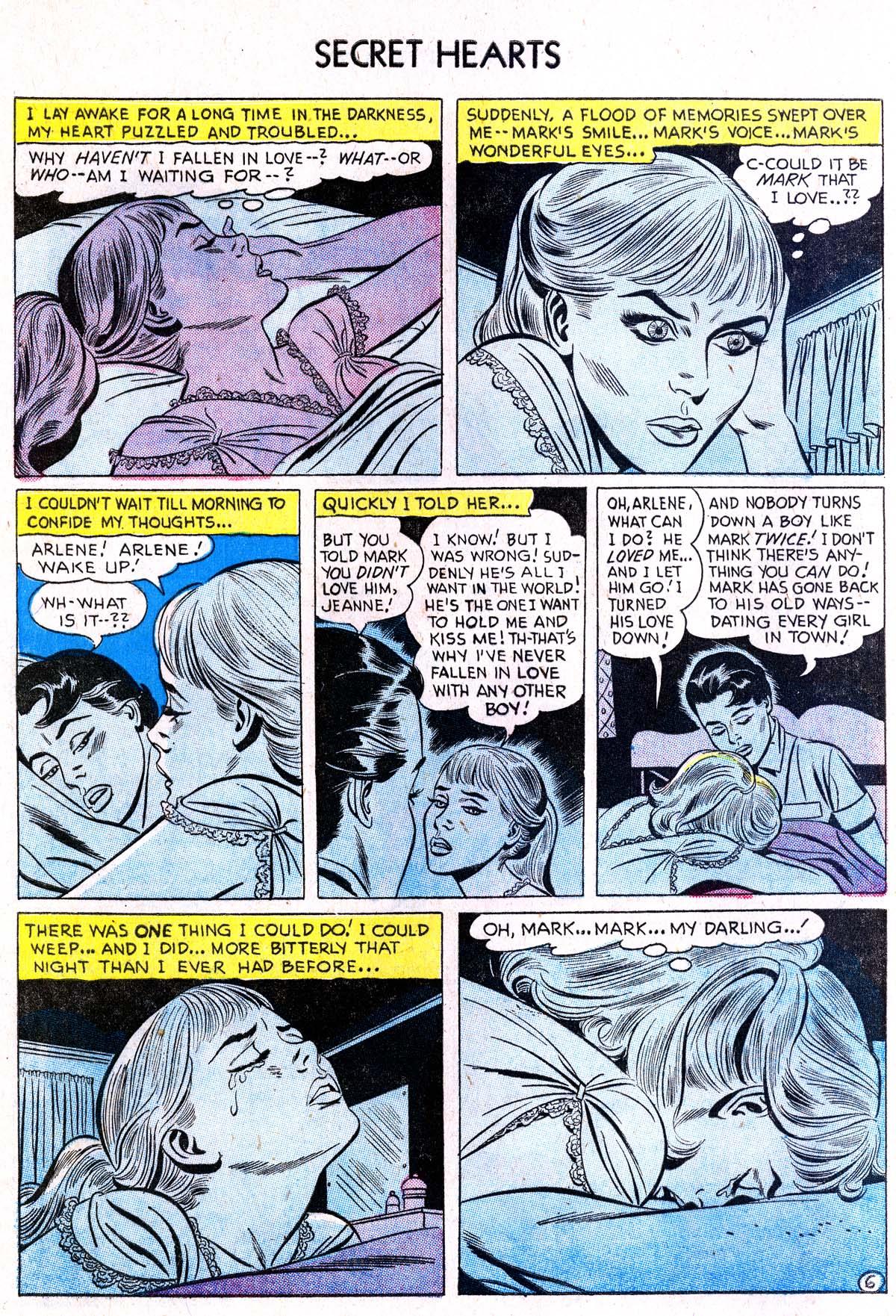 Read online Secret Hearts comic -  Issue #38 - 8