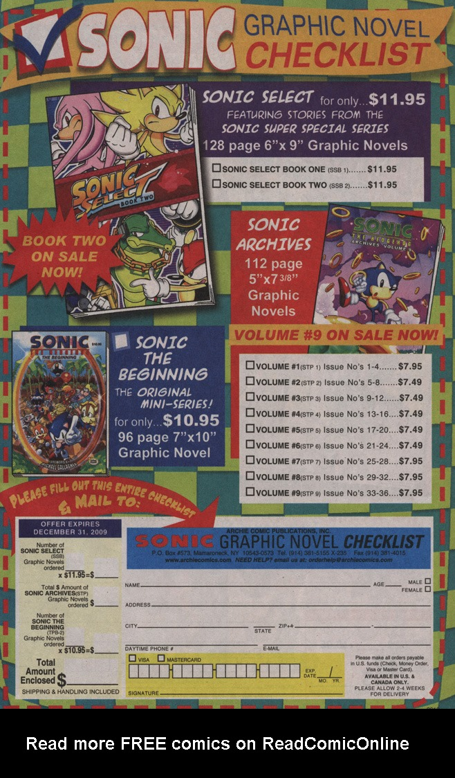 Read online Sonic X comic -  Issue #40 - 7