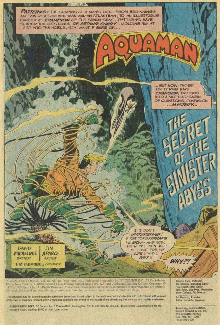Read online Adventure Comics (1938) comic -  Issue #451 - 3
