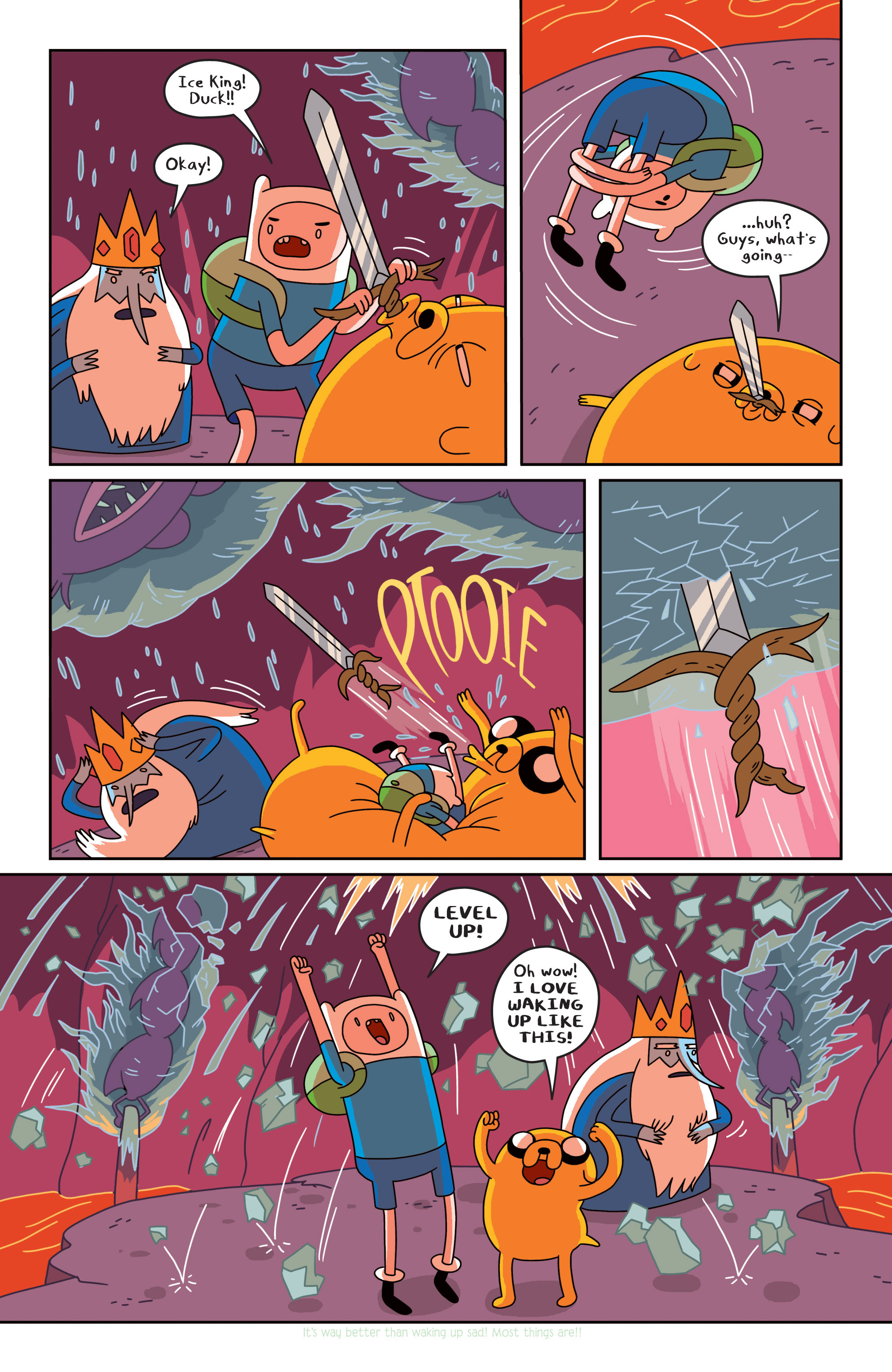 Read online Adventure Time comic -  Issue #18 - 11