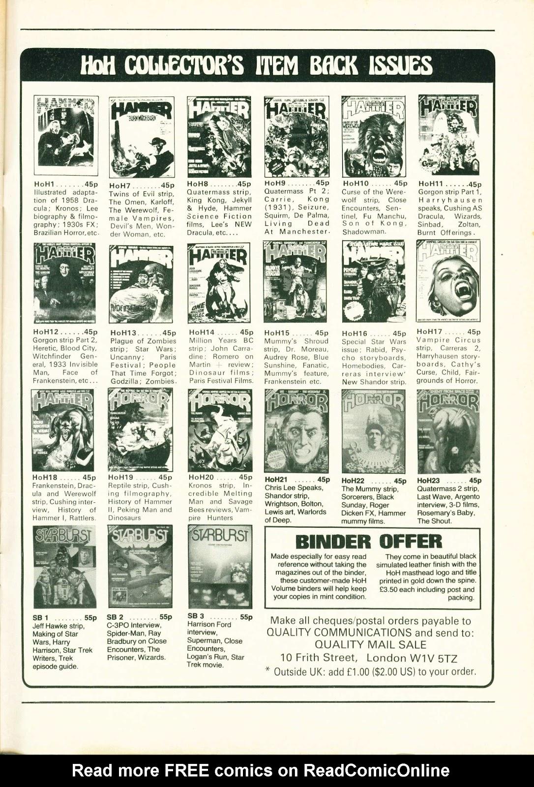 Warrior Issue #2 #3 - English 50