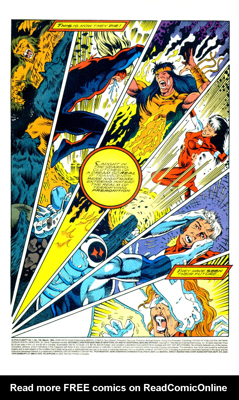 Read online Alpha Flight (1983) comic -  Issue #130 - 3
