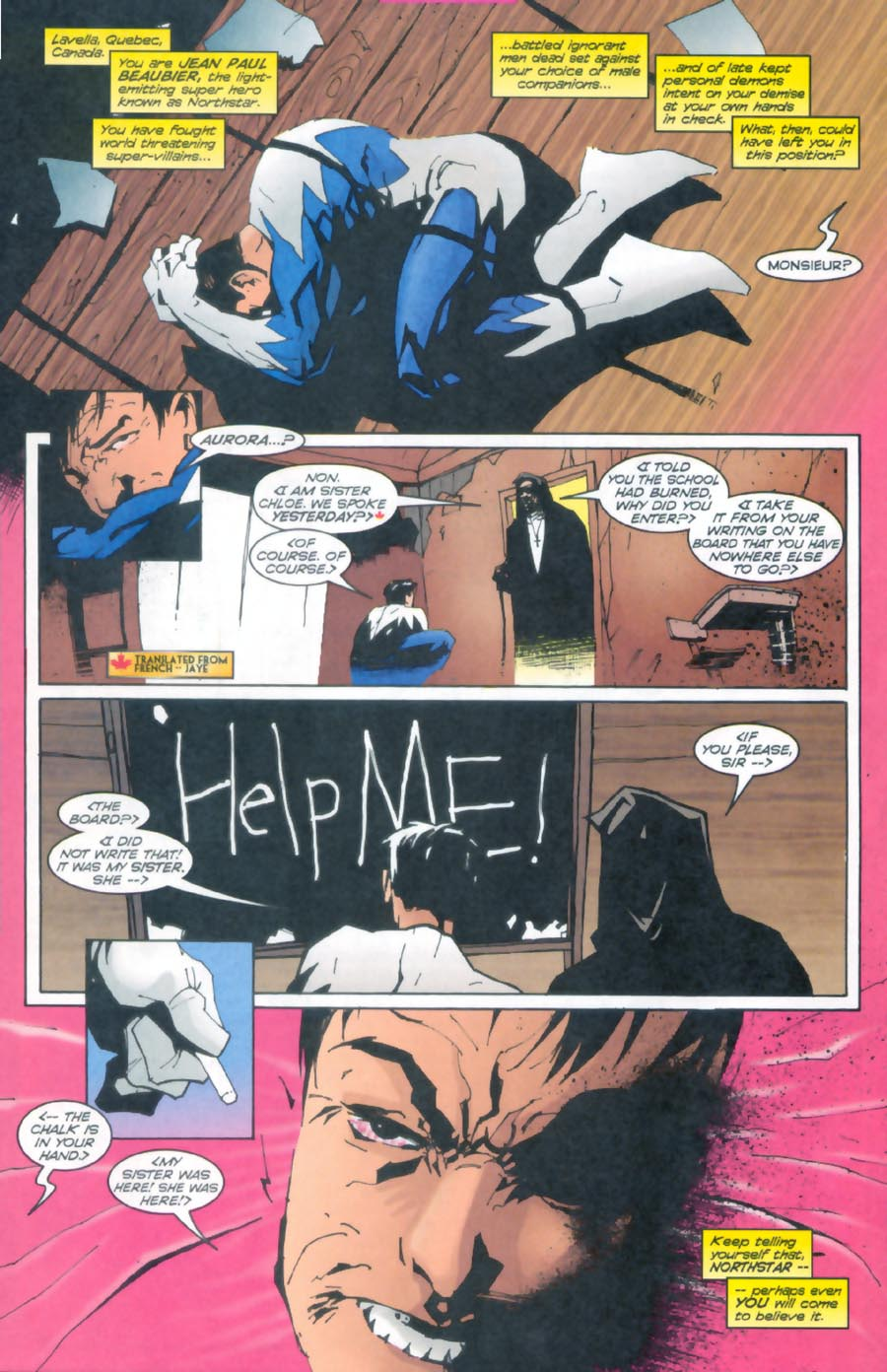 Read online Alpha Flight (1997) comic -  Issue #13 - 17