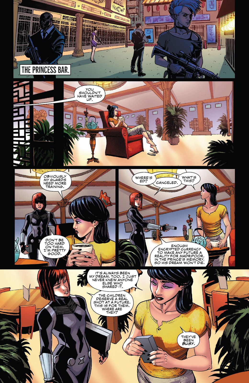 Read online Black Widow (2019) comic -  Issue #5 - 18