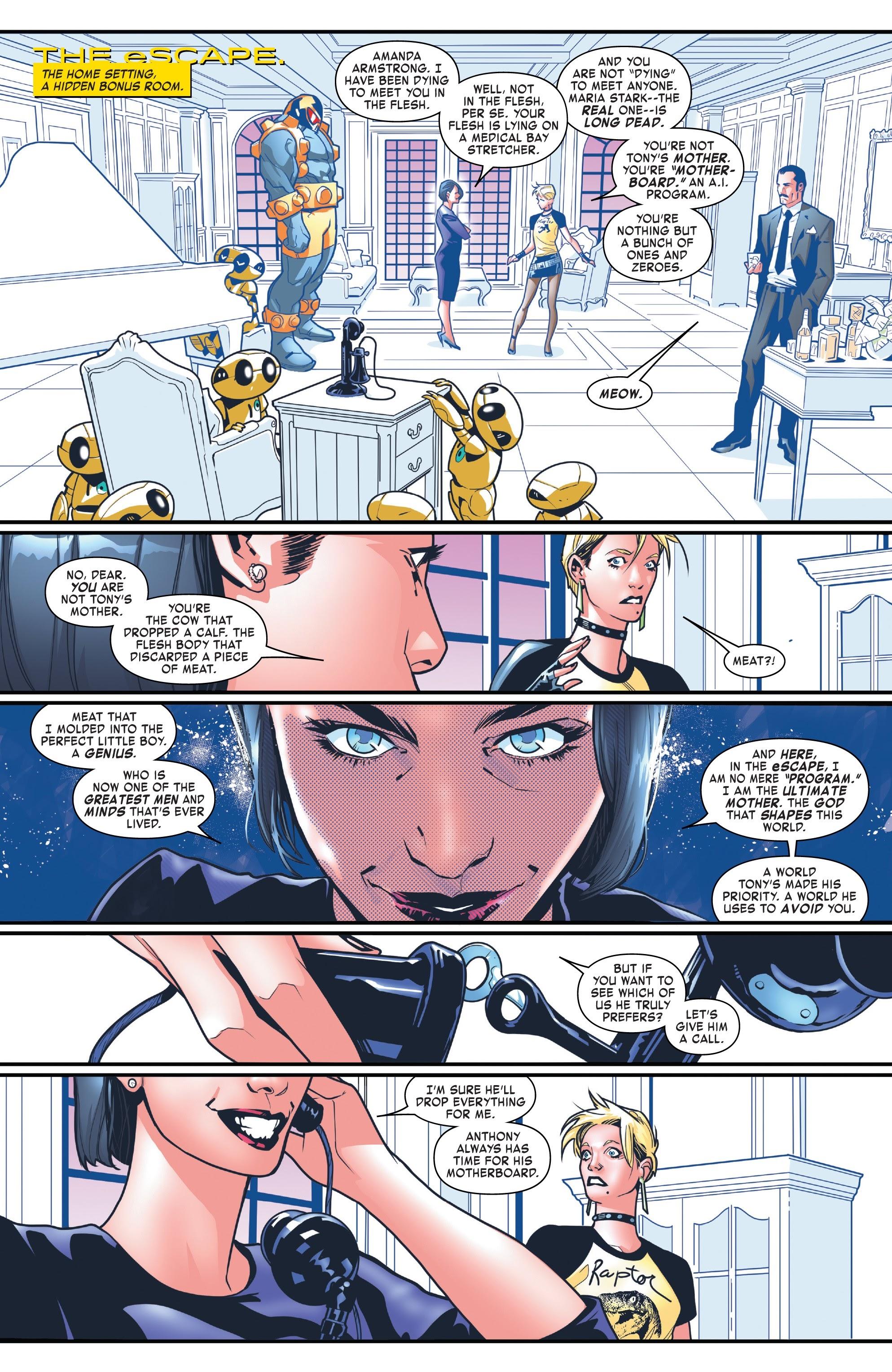 Read online Tony Stark: Iron Man comic -  Issue #8 - 13