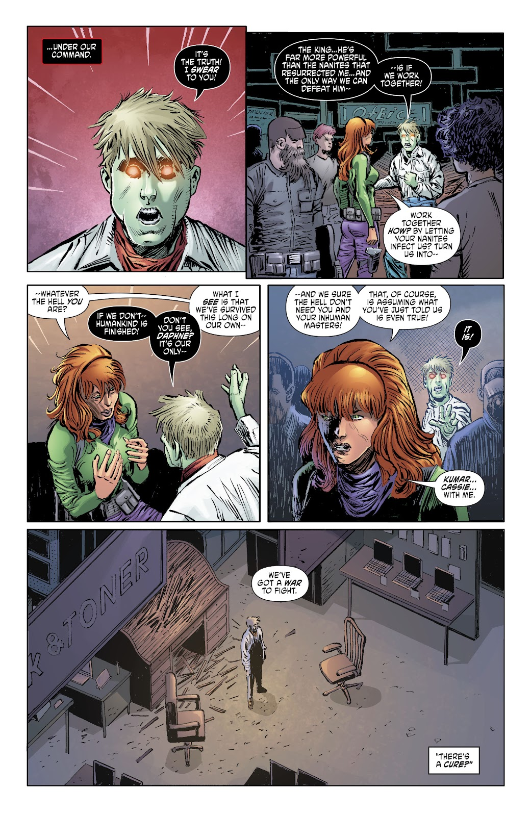Read online Scooby Apocalypse comic -  Issue #34 - 9