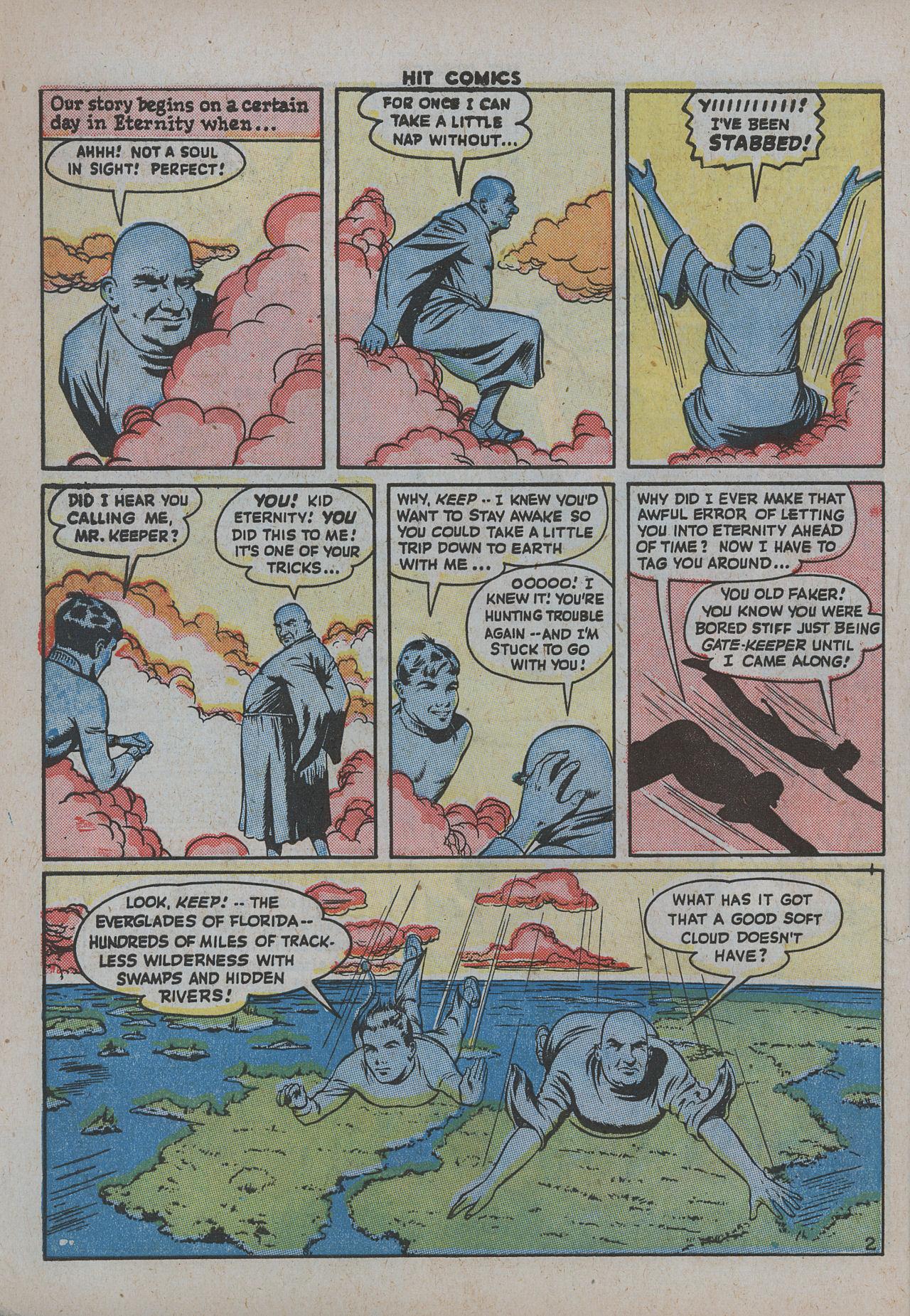 Read online Hit Comics comic -  Issue #38 - 7