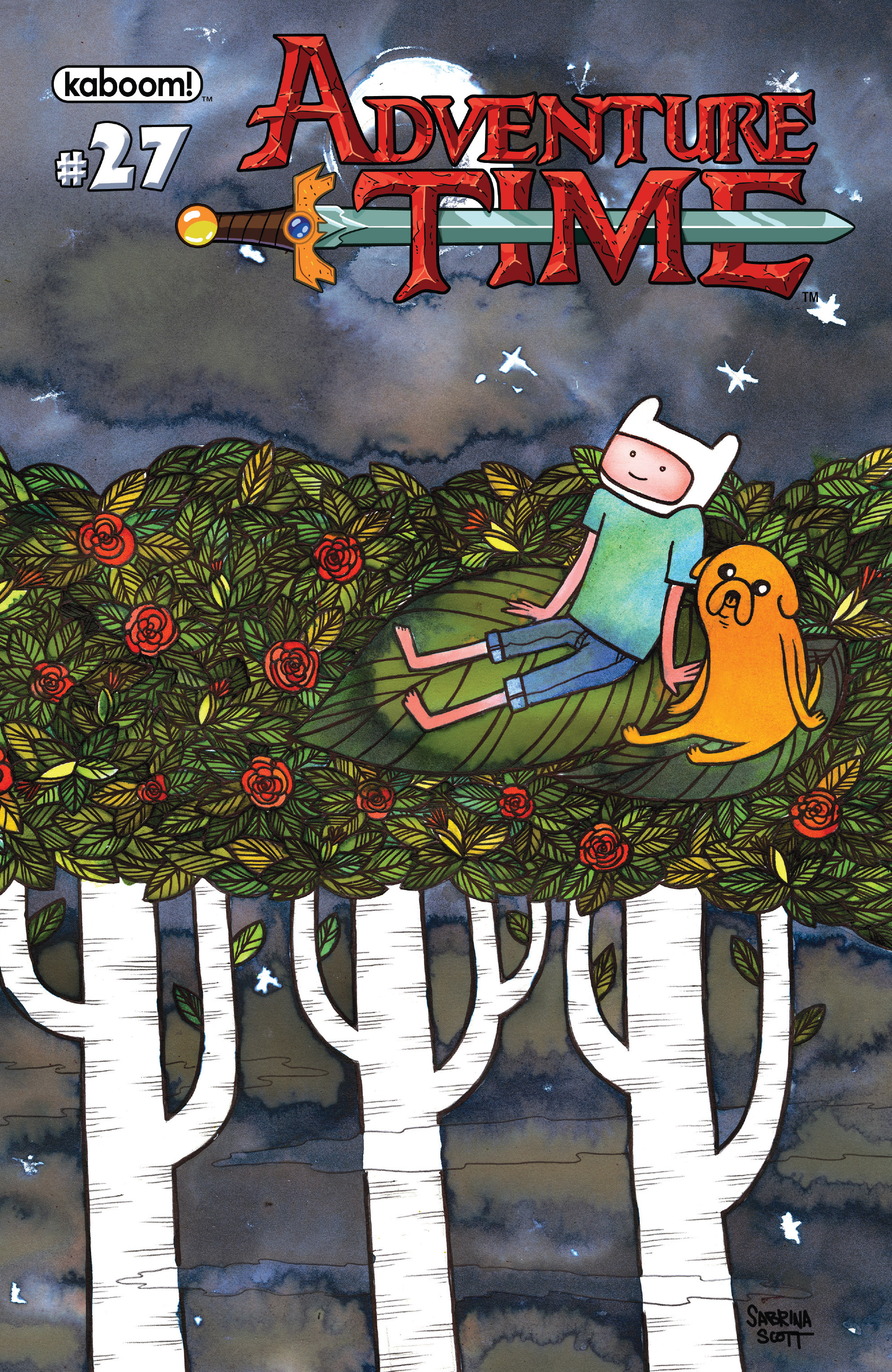 Read online Adventure Time comic -  Issue #27 - 2