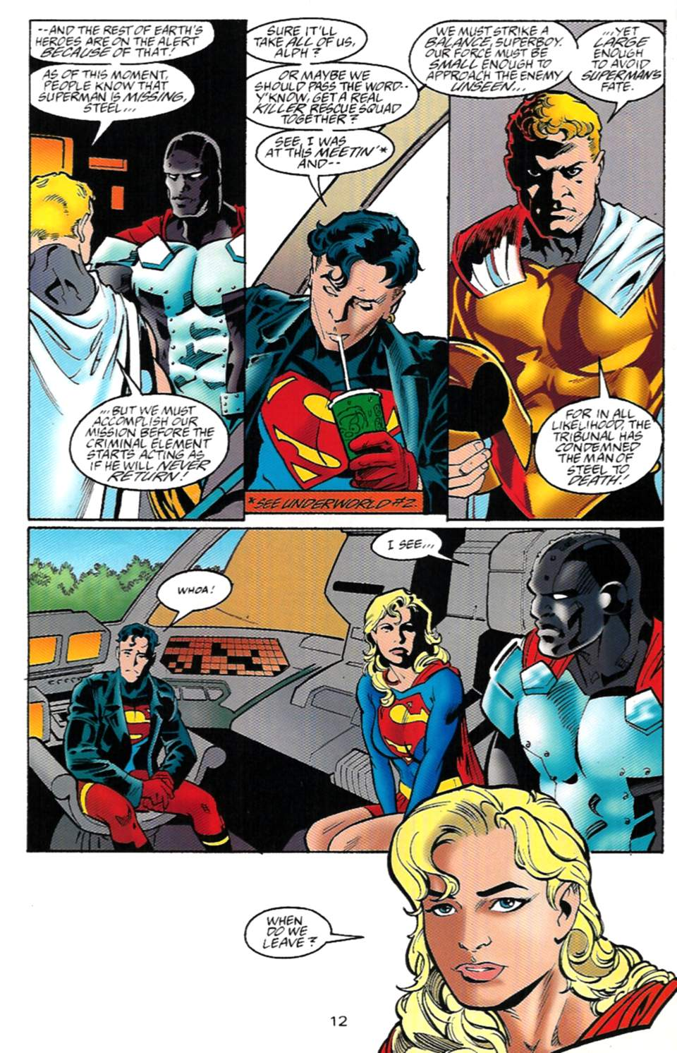 Read online Adventures of Superman (1987) comic -  Issue #529 - 13