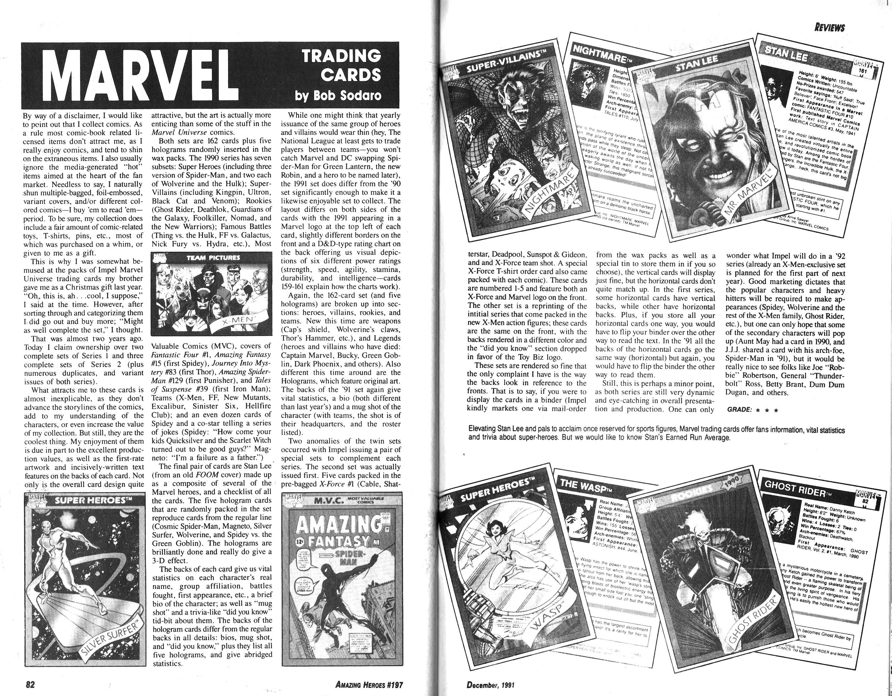 Read online Amazing Heroes comic -  Issue #197 - 42