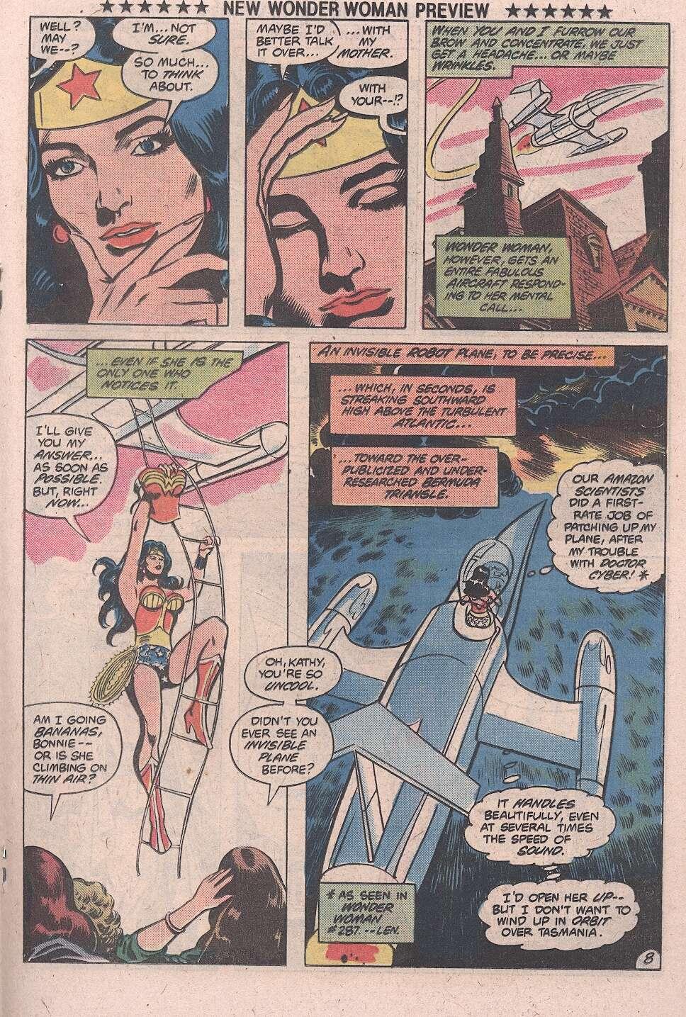 Read online Wonder Woman (1942) comic -  Issue #287b - 9