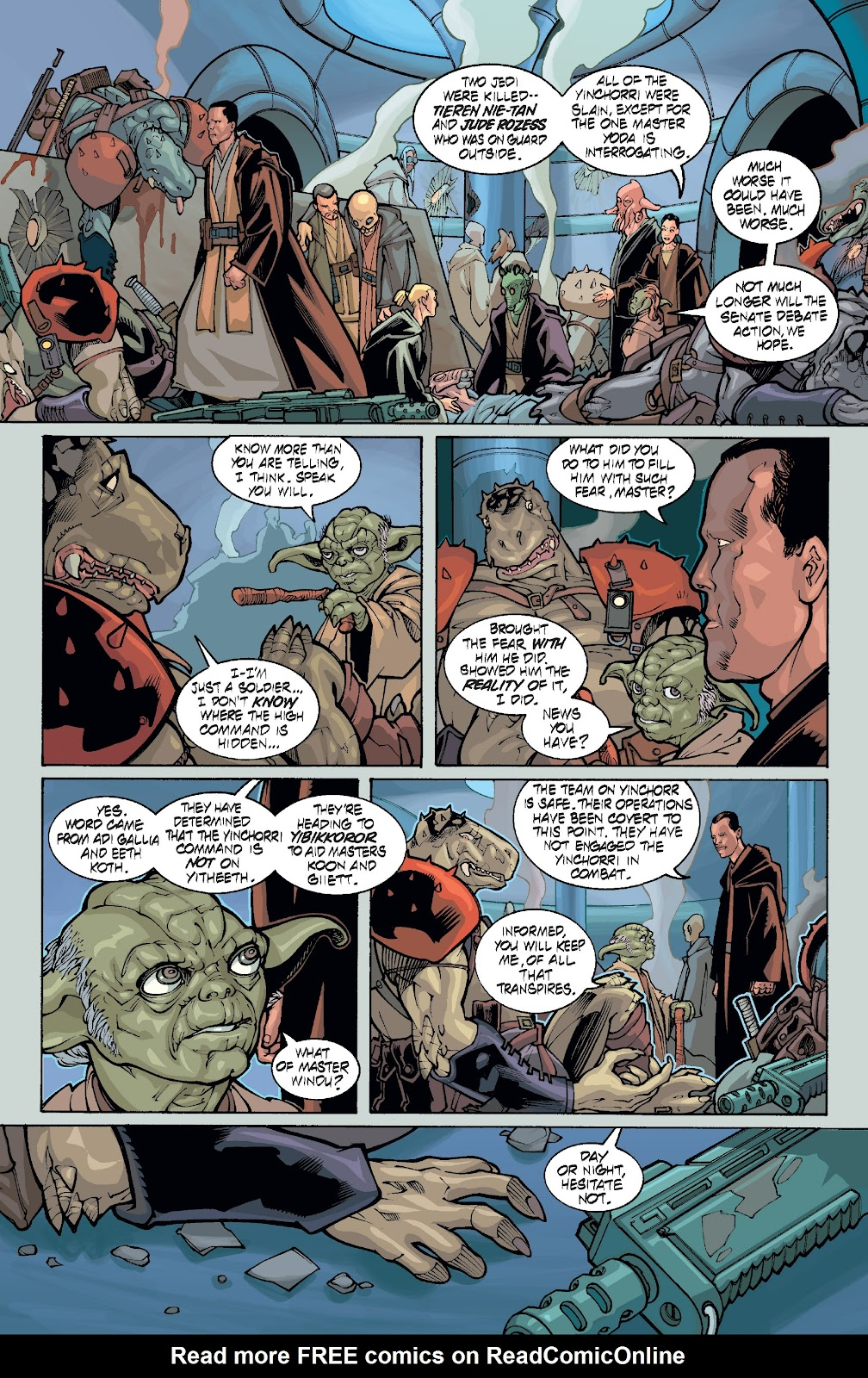 Read online Star Wars Legends: Rise of the Sith - Epic Collection comic -  Issue # TPB 1 (Part 5) - 8